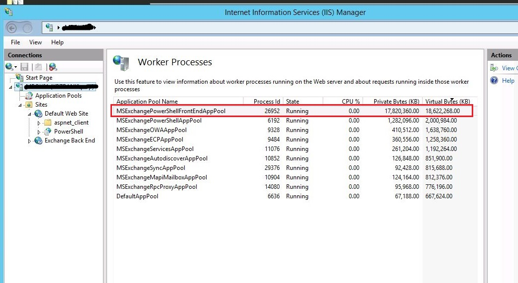 A Blog to a System Admin's Passion: IIS Worker Process (w3wp