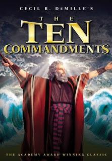 The Ten Commandments บัญญัติสิบประการ