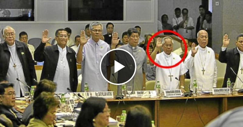Senate Hearing vs Bishops 7M PCSO funds scandal noong 2011