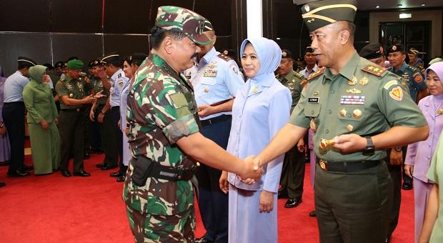 Kenaikan Pangkat 66 Pati TNI