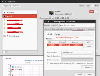 Menampilkan Compliance Test di Firmware Ubiquity