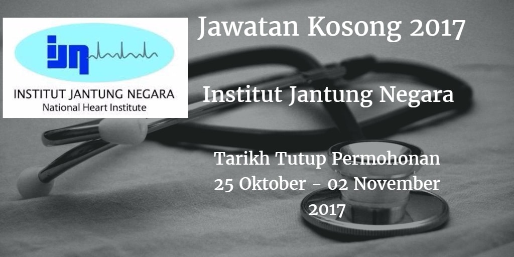 Jawatan Kosong IJN 25 Oktober - 02 November 2017