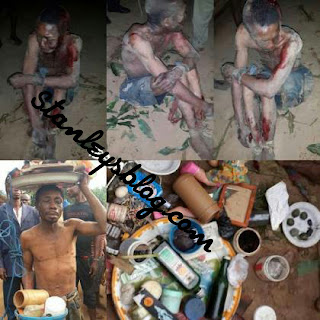 Man beaten for practicing witchcraft