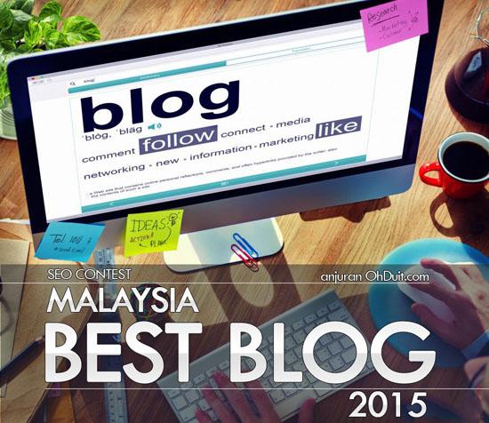 Kontest SEO Malaysia Best Blog 2015