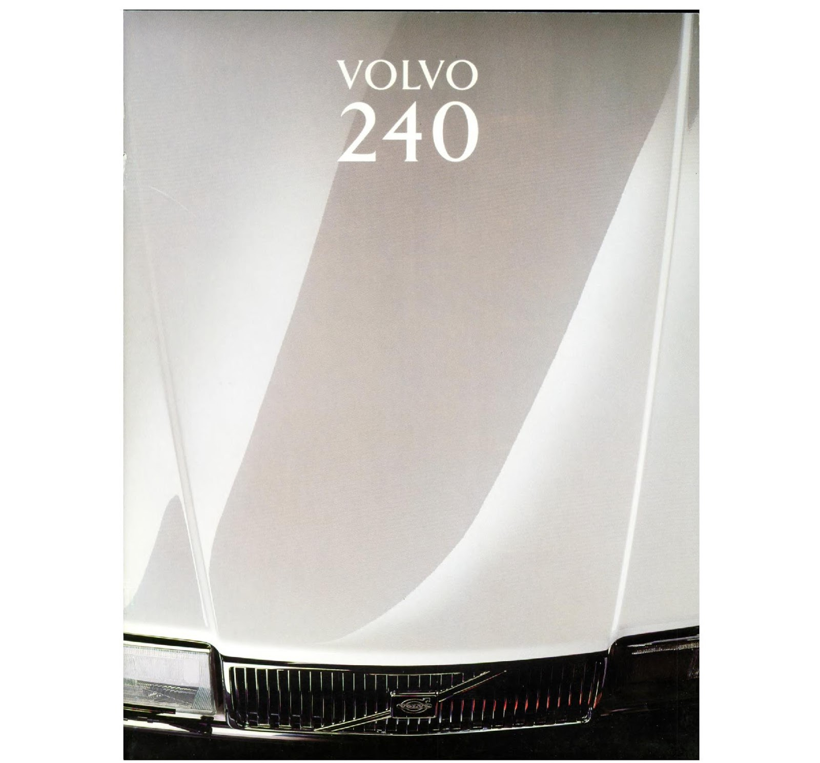 Download A Brochure For Volvo Models: My World Of Volvo: Volvo 240 Brochure (NL