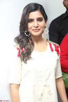 Samantha Ruth Prabhu Smiling Beauty in White Dress Launches VCare Clinic 15 June 2017 005.JPG