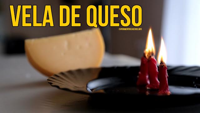 Cómo hacer una vela de queso, vela casera, supervivencia , experimentos caseros, experimento casero, experimentos para niños, experimentos de química, experimentos de física, experimentos sencillos, experimentos fáciles, ciencia, ciencia en casa
