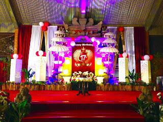 Paket Pesta Ulang Tahun 17 di Canang Sari Restaurant Bali
