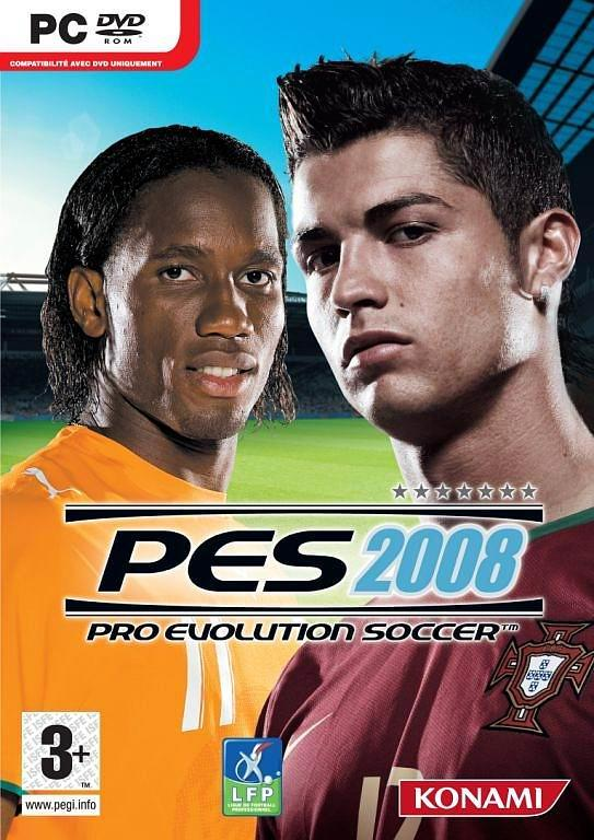 Hollywood movies, games and full version free softwares: pes 2008.