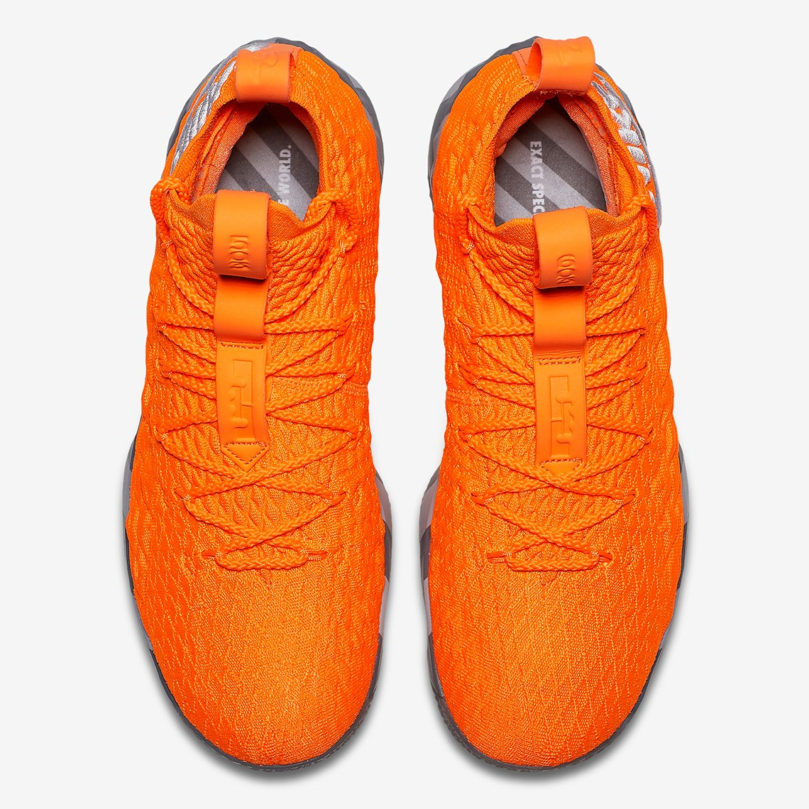 19fb83d2b8ea Nike Lebron 15  Orange Box