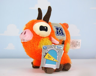 disney store monsters university archie pig mascot plush