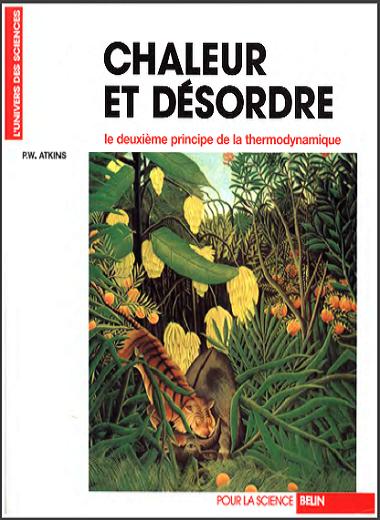 Livre : Chaleur et désordre - le deuxieme principe de la thermodynamique