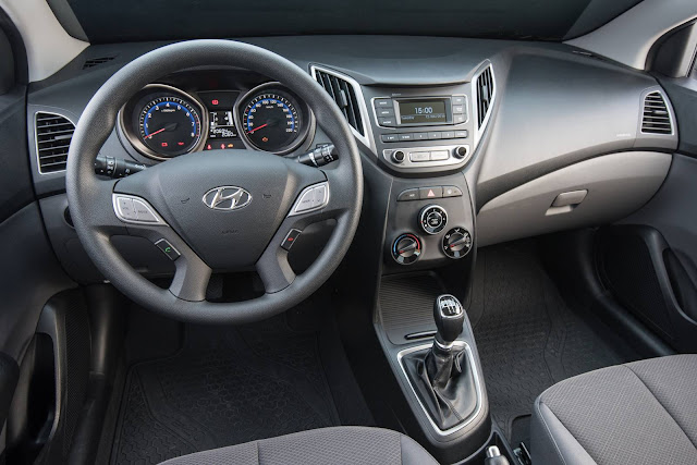Novo Hyundai Hb20 2016 Turbo - interior