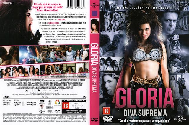 Capa DVD Gloria Diva Suprema