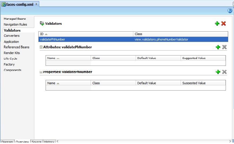 How to write custom validator in jsf