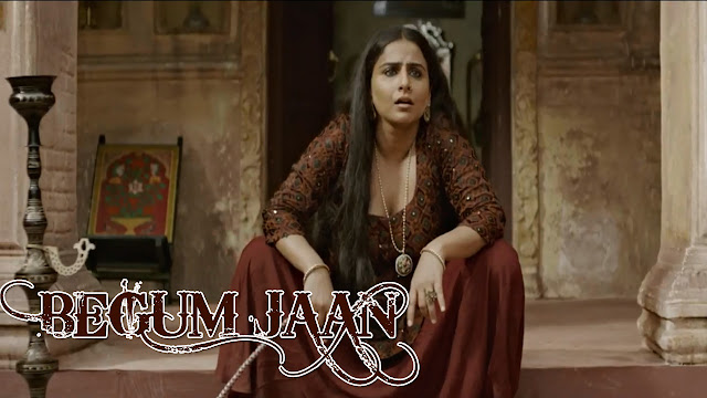 Vidya Balan Showing Her Boobs Cleavage In Begum Jaan