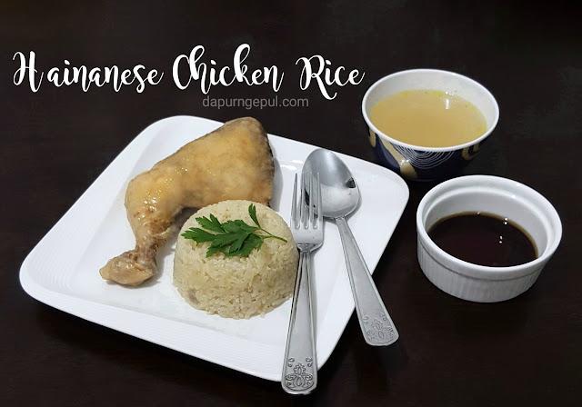 Nasi Ayam Hainan by dapurngepul.com