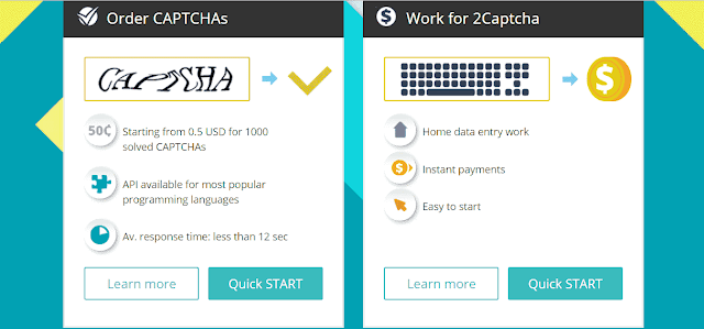 Typing jobs captcha