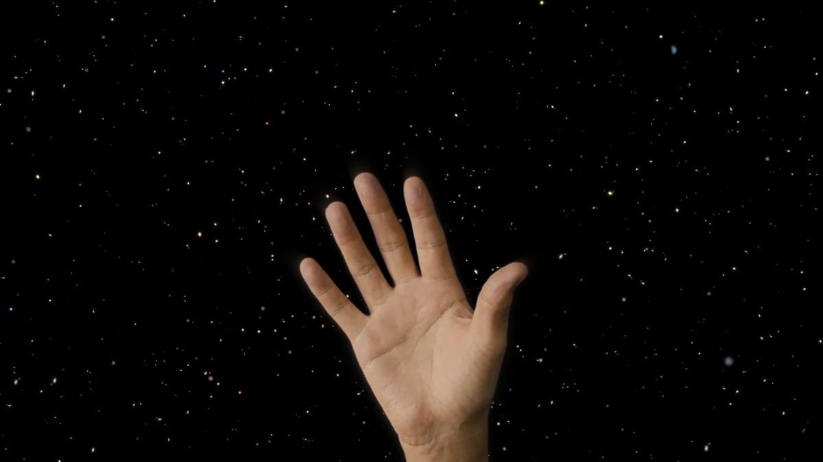 Kenzo's hands