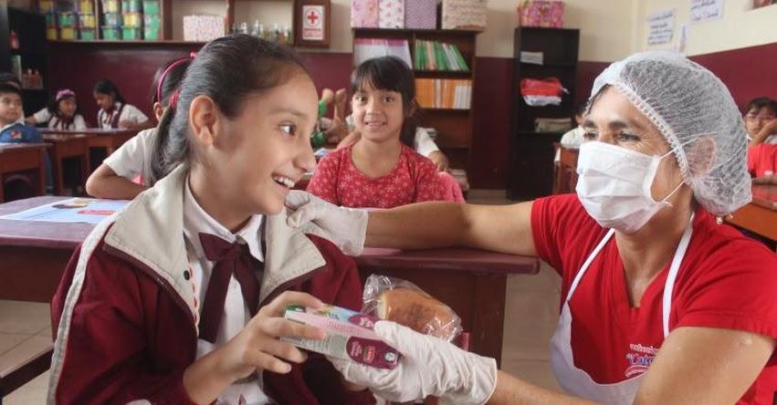 QALI WARMA: Programa social entregó casi 900 millones de raciones durante servicio alimentario escolar 2019 en el ámbito nacional - www.qaliwarma.gob.pe