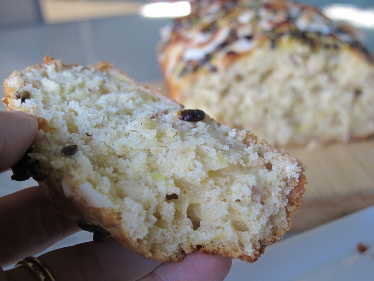 muppys: Banana, Passionfruit and Coconut Loaf