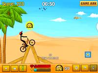 permainan Stickman Freestyle BMX