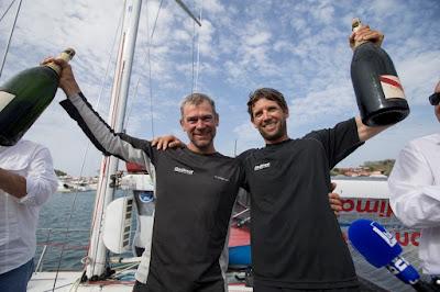 Thierry Chabagny et Erwan Tabarly vainqueurs de la Transat AG2R 2016 !