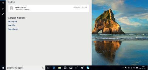 Cosa può fare Cortana Windows 10 informazioni