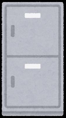 ロッカーのイラスト(閉)