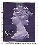 Rainha Elizabeth II - 5½ P