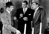 Raymond Burr, Curt Conway and John Ireland in Raw Deal (1948)