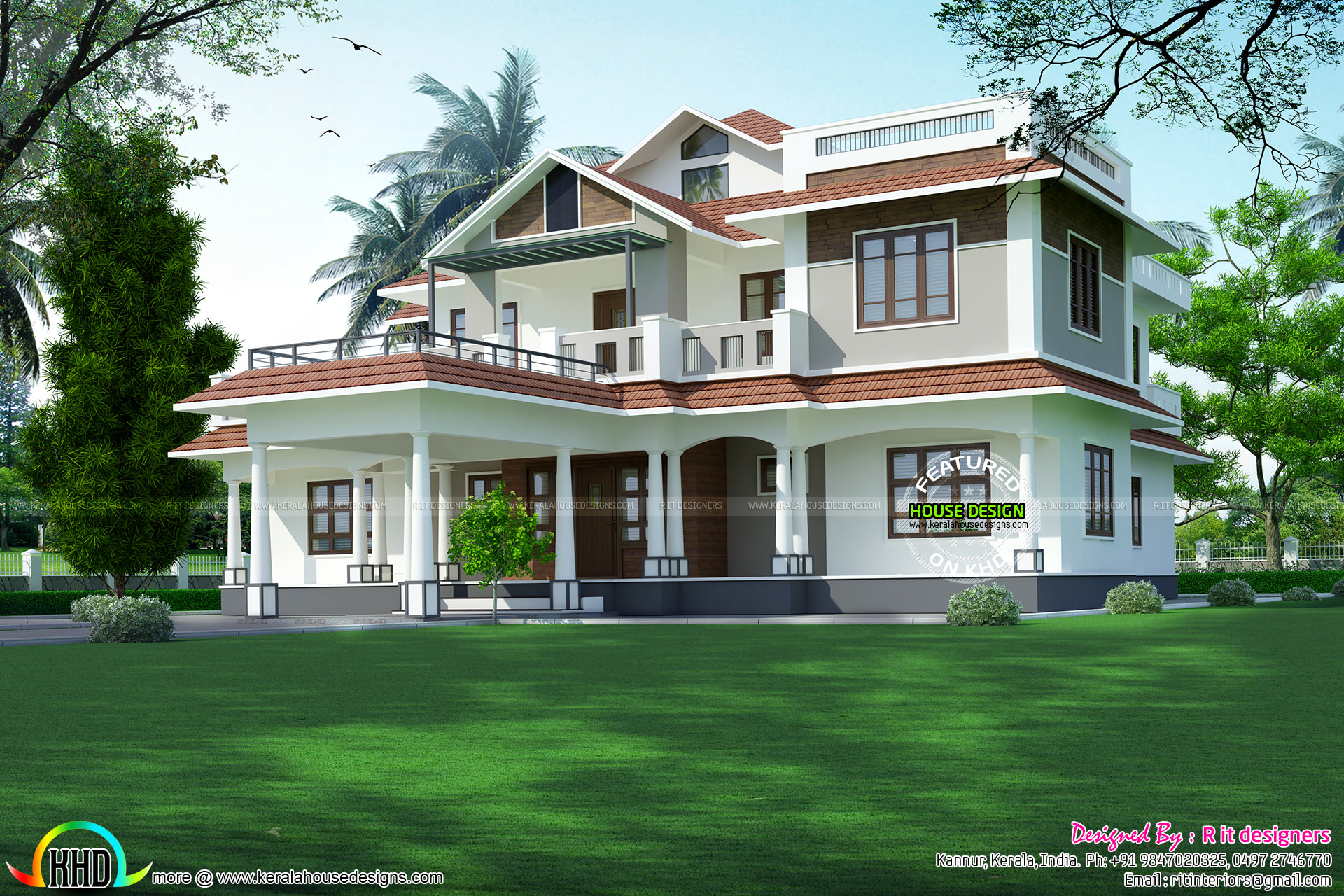 Dream home plans in kerala with estimate prices for House plans and prices