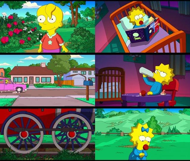 Maggie Simpson En: Jugando Con El Destino (2020) HD 1080p Cortometraje