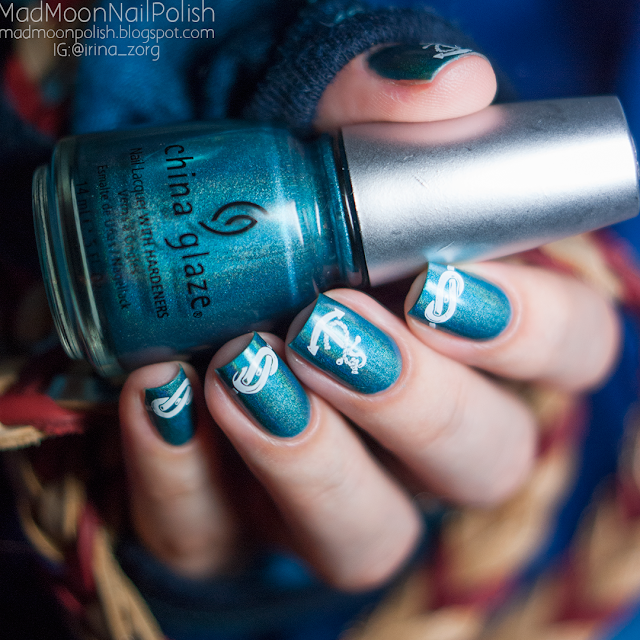 China Glaze DV8 и стеспинг ND006