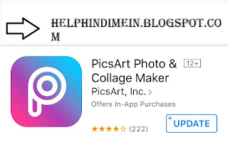 picsart app for iphone