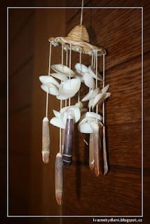 Obrázek zvonkohry z mušlí