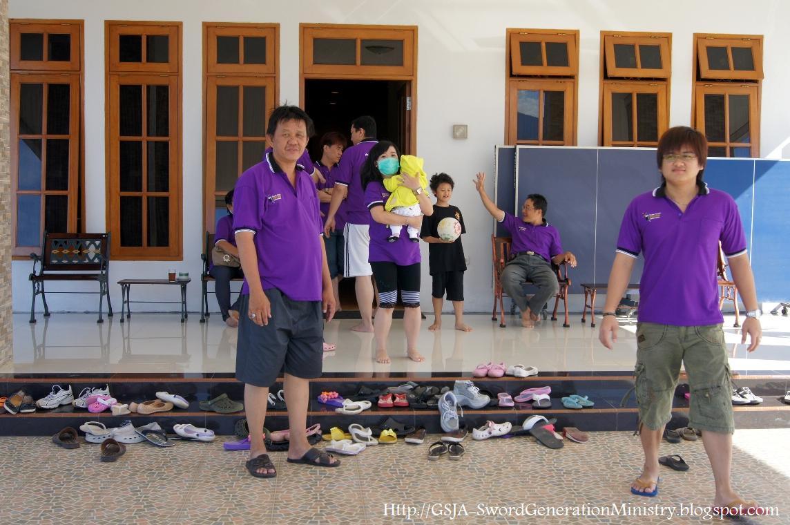 Gathering pekerja GSJA sword