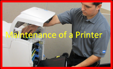Maintenance of a Printer