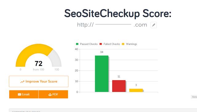 """إفحص توافق موقعك مع محركات البحث و احترامه لشروط السيو """"seo"""""""