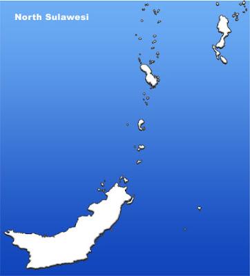 image: North Sulawesi blank map