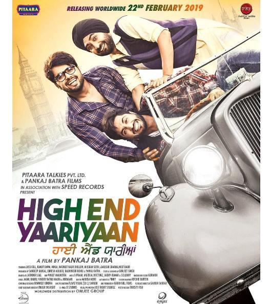 full cast and crew of Punjabi movie High End Yaariyaan 2019 wiki, High End Yaariyaan story, release date, High End Yaariyaan Actress name poster, trailer, Photos, Wallapper