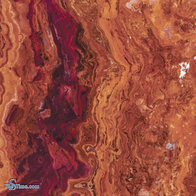 Multi Red Onyx Tile 12 in. x 12 in. Polished