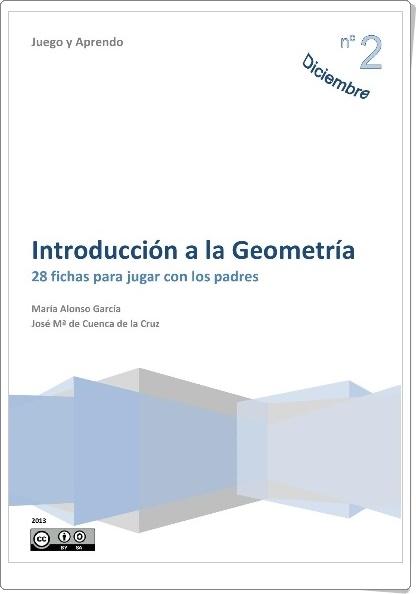"""""""Introducción a la Geometría"""" (28 fichas para jugar con los padres)"""