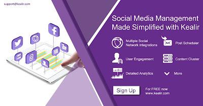 Social Media Management - Kealir