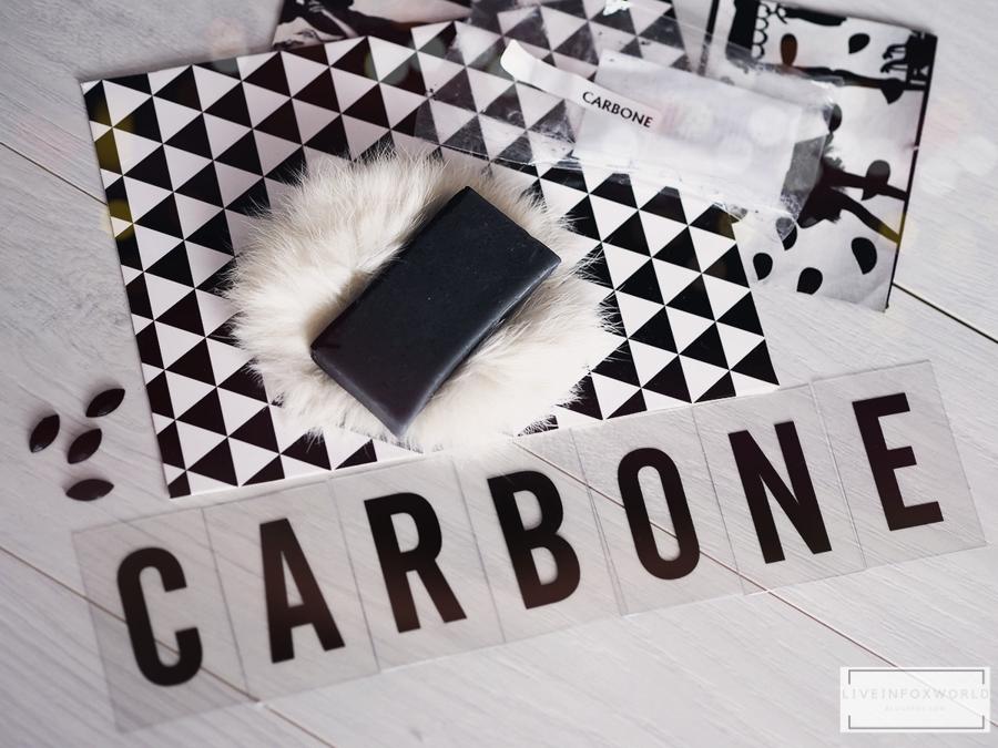CARBONE prírodné mydlo s aktívnym uhlím Soaphoria