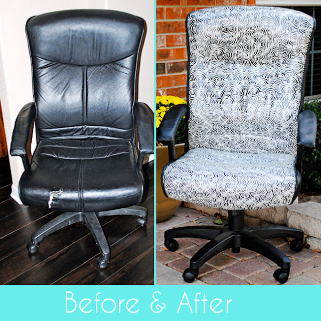 Someday Crafts: Duct Tape Office Chair