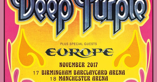 DEEP PURPLE ANUNCIAN SU GIRA, 'THE LONG GOODBYE TOUR'