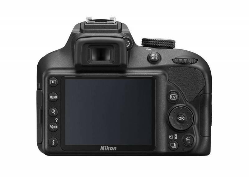 Nikon d3400 Layar