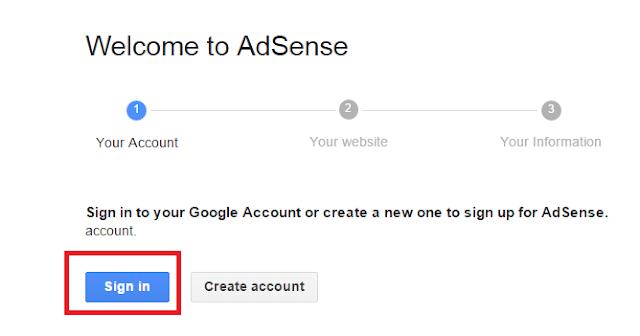 Các bước đăng ký google adsense