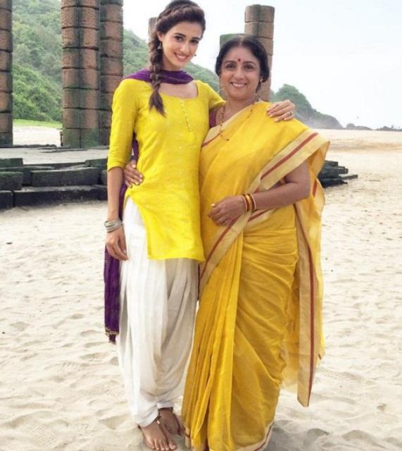Disha Patani Share Upcoming Movie Photo on Instagram